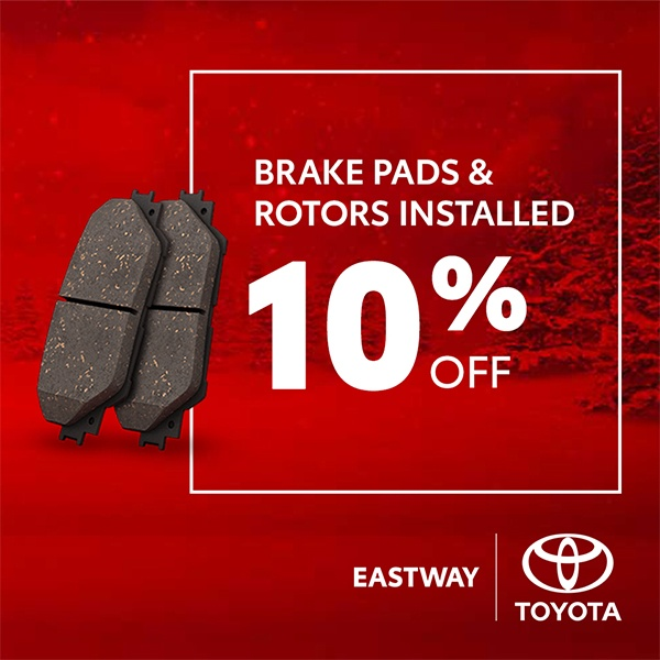 Brake Pads & Rotors Installed 10%off